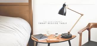 Bed Side Table by The Gentleman U0027s Smart Bedside Table Primer