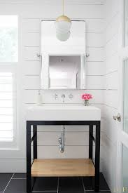 White Modern Bathroom Vanities White Modern Bathroom Makeover The Greenspring Home