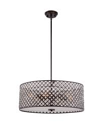 Modern Pendant Lighting Interior Appealing Pendant Lighting With Four Lamp By Quoizel