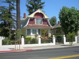 dutch colonial revival house san jose california exterior