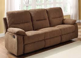 Sectional Sofas With Recliners And Cup Holders Homelegance Marianna Double Reclining Sofa With Center Drop Down