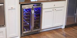 cabinet mount wine cooler elegant top 10 built in wine coolers winecoolerdirect wine fridge