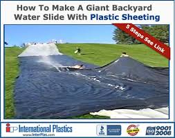 25 unique homemade water slides ideas on pinterest homemade