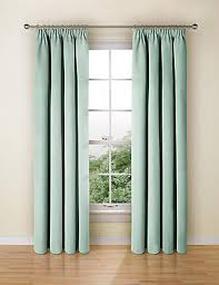 Duck Egg Blue Blackout Curtains Blue Ready Made Curtains Buy Duck Egg U0026 Navy Curtain M U0026s