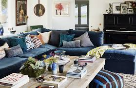 Blue Velvet Sectional Sofa Blue Velvet Sectional Sofa Lovely Navy Menzilperde Net Impressive