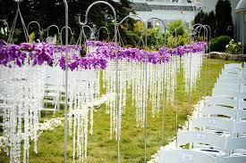 wedding ceremony ideas outdoor wedding ceremony reserved signs for the ceremony