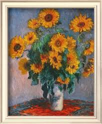 Vase Of Sunflowers Vase Of Sunflowers Claude Monet U0027s Paintings For Sale On 1paintings Com