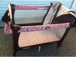 Graco Pack N Play With Changing Table Modern Pink And Brown Graco Pack N Play With Changing Table Rs