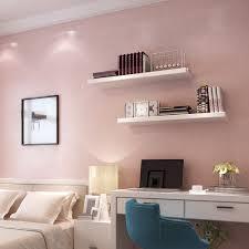 Livingroom Wallpaper Aliexpress Com Buy Haokhome Solid Color Non Woven Wallpaper Baby