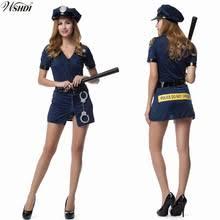 Halloween Costumes Cops Popular Womens Police Officer Halloween Costumes Buy Cheap Womens