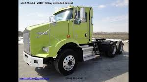 2010 kenworth trucks for sale for sale 2010 kenworth t800 extended day cab from used truck pro 866