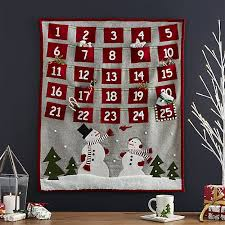 advent calendar felt christmas advent calendar crate and barrel