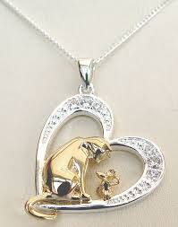 cat jewelry necklace images Silver animal jewellery cat jewellery dog jewellery horse jpg