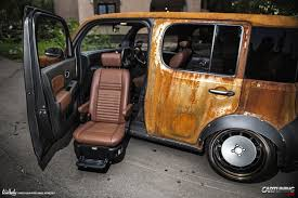 stanced nissan cube tuning nissan cube cartuning best car tuning photos from all