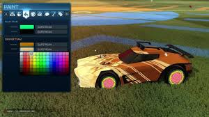 rocket league top 5 slipstream color combinations youtube