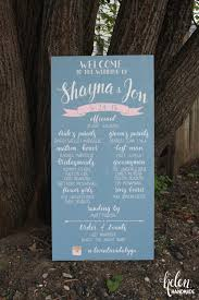 wedding program sign custom painted wedding program sign helen handmade online