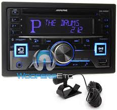 alpine cde w265bt in dash double din cd mp3 usb ipod car stereo