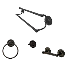 Oil Rubbed Bronze Bathroom Hardware by Shop Decorative Bathroom Hardware Sets At Lowes Com