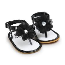 newborn baby sandal summer crib shoes anti slip flip flop