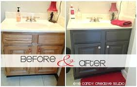 how to paint bathroom cabinets ideas painting bathroom vanity before and after fantastical best paint