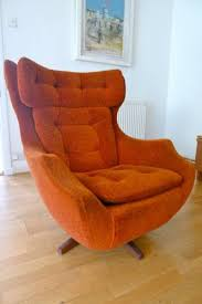 Chairs For The Living Room by Vintage Parker Knoll Egg Swivel Rock Chair Parker Knoll Egg And