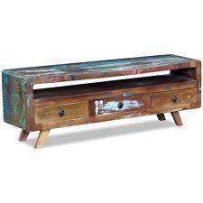 reclaimed wood media furniture ebay