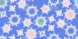 retro wrapping paper seamless pattern in retro style shapes vector