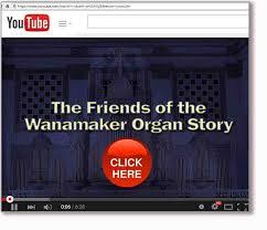 friends of the wanamaker organ
