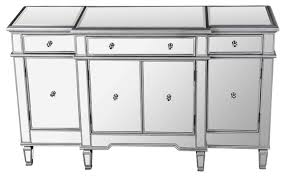 nicolette mirrored sideboard contemporary buffets and