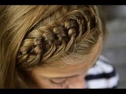 youtube braid master the knotted headband bangs or fringe