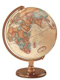 World Map United States by Hastings Globe Page