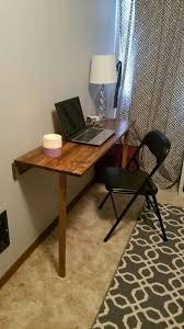 Diy Fold Down Table Fold Down Wall Mount Shelf Mounted Folding Desk With Table Plans