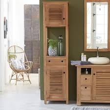 meuble etagere cuisine armoire colonne rangement bois tek meuble etagere cuisine design