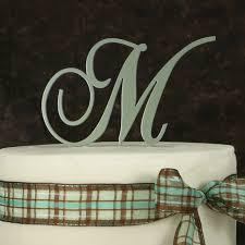 m cake topper metal monogram wedding cake topper metal monogram cake topper