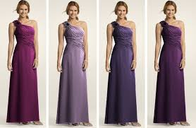 davids bridesmaid dresses wedding ordered from l r is iris wisteria plum lapis