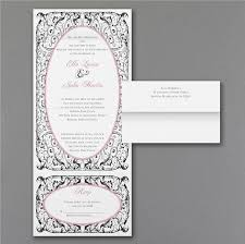 Send And Seal Wedding Invitations 7 Best Z Fold Wedding Invitations Images On Pinterest