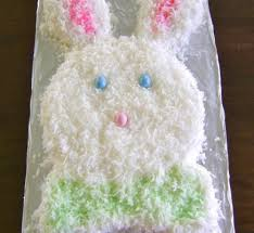 how to make an angel food easter bunny cake quick u0026 easy recipes