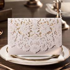 wedding invitations ebay lace wedding invitations ebay