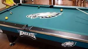 dallas cowboys pool table cloth awesome my philly eagles pinterest