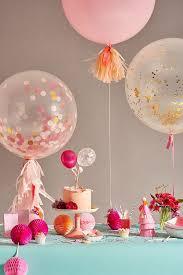 Pink Balloon Decoration Ideas 25 Best Ideas About Confetti Balloons On Pinterest Pink Balloon