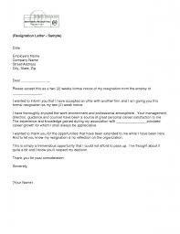 resignation letter sample for nurses professional resumes