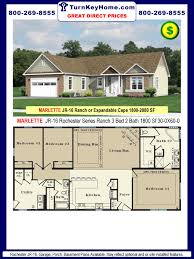 rochester homes marlette jr 16 rochester series modular ranch plan