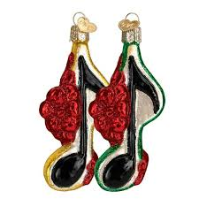 musical note ornament ornaments callisters