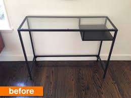 Ikea Desk Hack by Before U0026 After A Year Of Ikea Hacks Ikea Hacks For Her And Desks