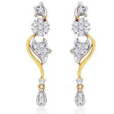 d damas gold diamond earrings gold earrings homeshop18