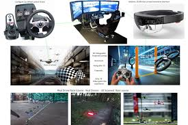holographic car 3d holographic immersive drone car racing what u think unity