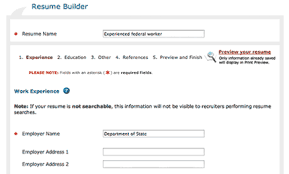 Usajobs Gov Resume Builder Go Government How To Apply For Federal Jobs And Internships