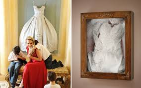 wedding dress shadow box your wedding dress framing it to remember it weddings