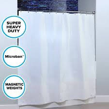 Weighted Shower Curtain Liner Traditional With Weighted Hem Shower Curtains Ebay