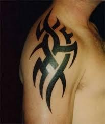 tribal shoulder designs cool tribal shoulder tattoos